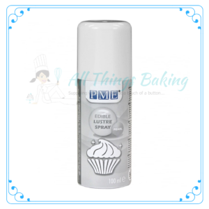Edible Lustre Spray - Pearl - All Things Baking