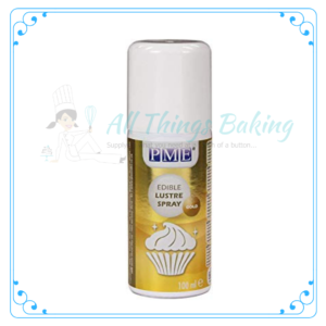 Lustre Spray - Gold - All Things Baking