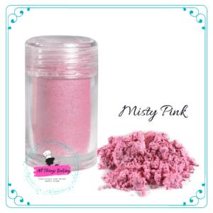 Pearlescent Lustre - Misty Pink