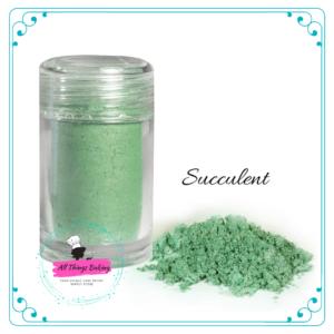 Pearlescent Lustre - Succulent