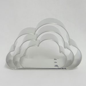 Stainless Steel Cutter - Flat Bottom Cloud Set