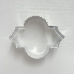 Stainless Steel Cutter - Moroccan Pattern