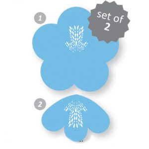 Stencil - Azalea (set of 2)