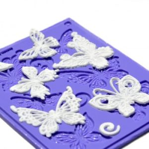 Edible Lace - Butterflies Multi Art Mould
