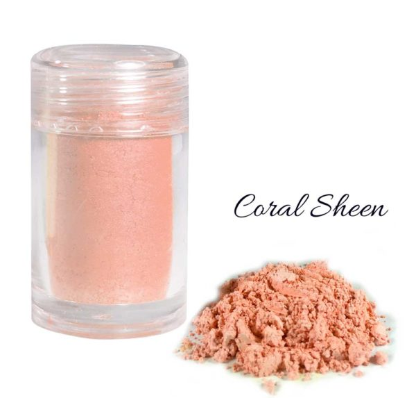 Pearlescent Lustre Collection - Coral Sheen