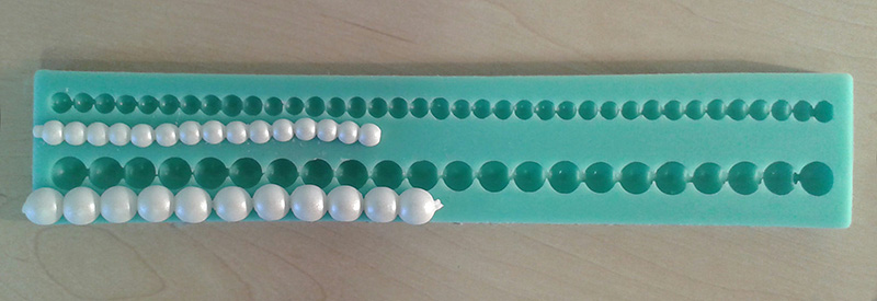 Silicone Mould - Pearl