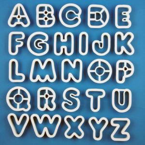 Cutters - Alphabet Set