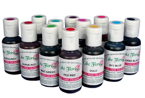 Gel Food Colour 25ml Red Red All Things Baking