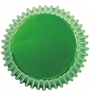 Metalic Green Baking Cup