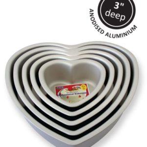 "Heart Cake Pan (10x3"")"