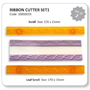 Ribbon Cutter - Scroll and Leaf