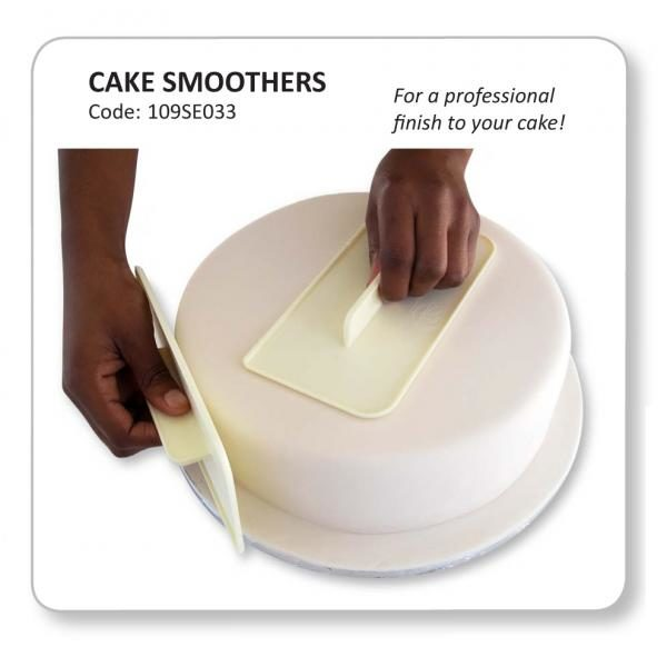 Cake Smoothers - Set of 2