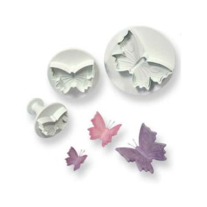 Plunger Cutter - Veined Butterfly