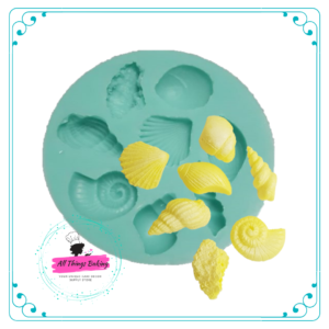 Silicone Mould - Shells Multimould