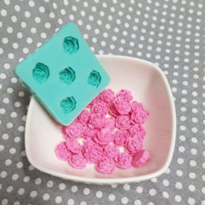 Cabbage Rose - Silicone Mould - All Things Baking