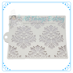 Stencil - Damask Border - All Things Baking