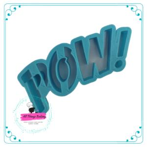 Plastic Cookie Cutter - POW cutter