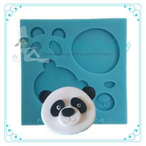 Assemble-it Mould - Panda Face - All things baking