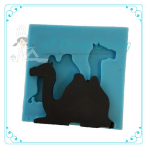 Camel Sitting - Silicone Mould - All Things Baking