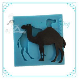Camel Standing - Silicone Mould - All Things Baking