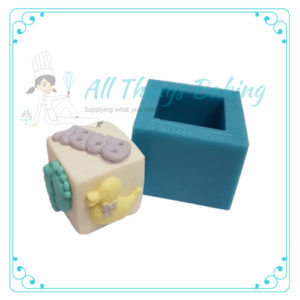 Cube Mould - Silicone Mould - All Things Baking