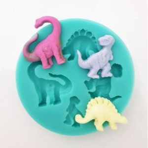All Things Baking - Dinosaur multimould