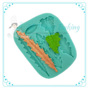 Fancy Leaf - Silicone Mould - All things Baking
