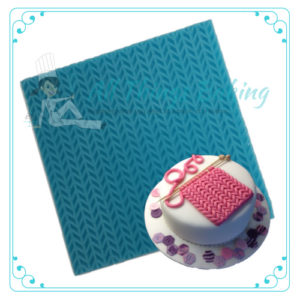 Embossing Matt - Knitting - All Things Baking