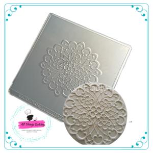 Texture Mat - Lace Disc