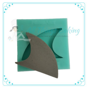 Shark Fin - Silicone mould - All Things Baking