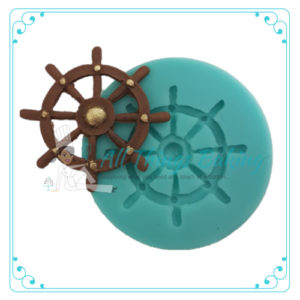 All Thing Baking - Silicone Mould - Ship Wheel
