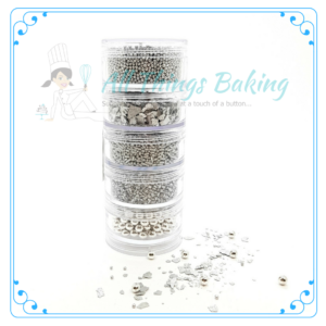 Sprinkle Stack - Silver - All Things Baking