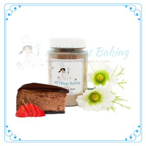 Chocolate Mousse Cake/Macaron Filling
