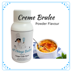 Creme Brulee - Powder Flavour - All Things Baking