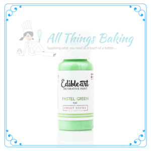 Edible Paint - Pastel Green - All Things Baking