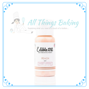 Edible Paint Peach 15ml - All Things Baking