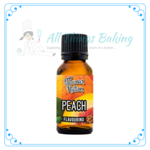 Flavour Nation - Peach - All Things Baking