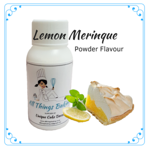Lemon Merinque - Powder Flavour - All Things Baking