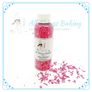 Mixed Sprinkles 90g - Cerise - All Things Baking