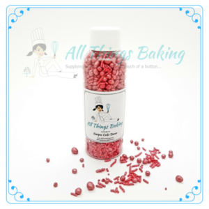 Mixed Sprinkles 90g - Cherry - All Things Baking