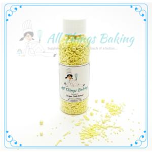 Mixed Sprinkles 90g - Lemon - All Things Baking