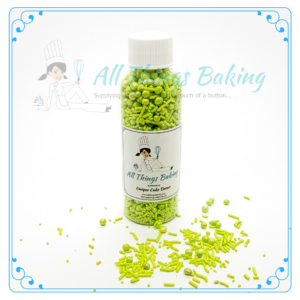 Mixed Sprinkles 90g - Lime - All Things Baking