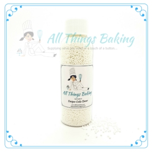 Nonpareils - White 100g - All Things Baking