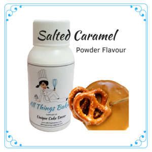 Salted Caramel - Powder Flavour - All Things Baking