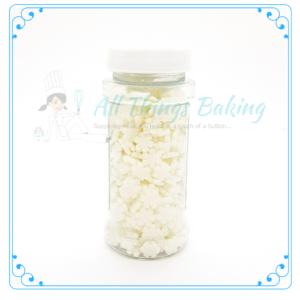 Mini Snowflake Confetti - All Things Baking