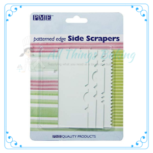 Patterned Edge Side Scraper - All Things Baking