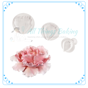 Peony Plunger Cutter - All Things Baking