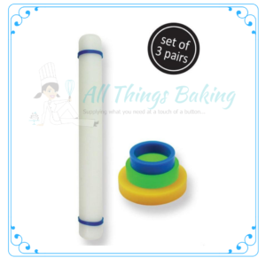 Rolling Pin Guide Rings Small - All things Baking
