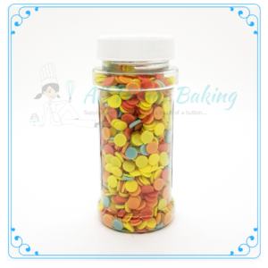 Round Disc Confetti - All Things Baking