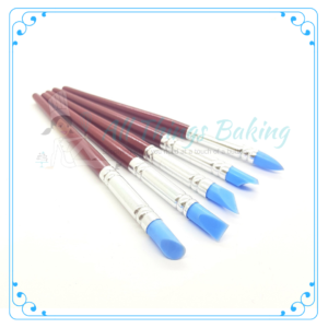 Silicone Brush Fondant Shapers